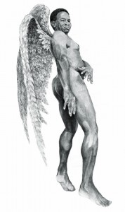 Black angel,260cm x 150cm