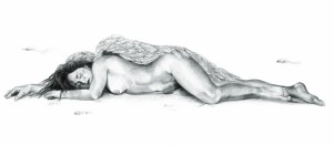 Sleeping angel,150cm x 250cm