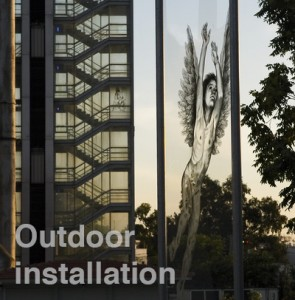Outdoor instalation || municipality of Athens Gazi