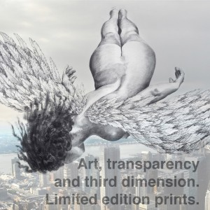 Art || transparency and third dimension | limited edition prints