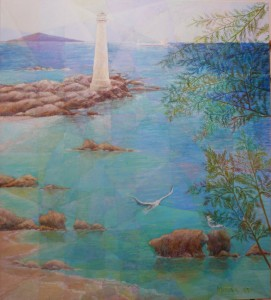 Lighthouse, 140cm x 130cm