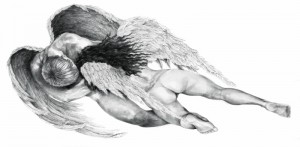 Angels in love,150cm x 300cm
